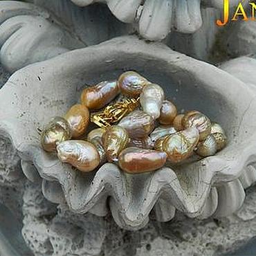 Украшения ручной работы. Ярмарка Мастеров - ручная работа Бусы из шикарнейшего Японского жемчуга Касуми. Handmade.