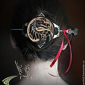 """Украшения ручной работы. Ярмарка Мастеров - ручная работа Заколка для волос """"Mortal Kombat"""". Handmade."""