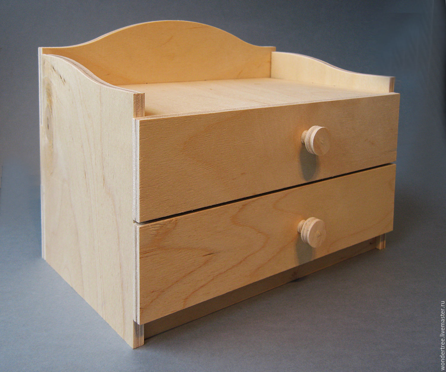 mini chest of drawers, Blanks for decoupage and painting, Chelyabinsk,  Фото №1