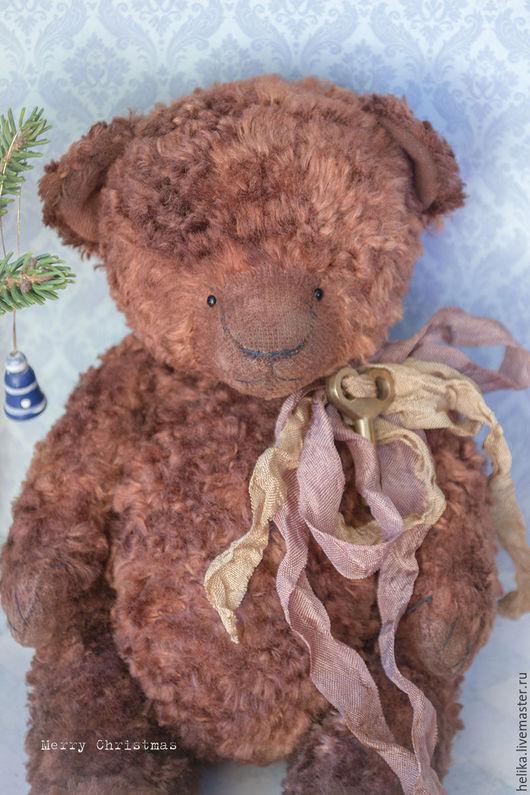 Мишки Тедди ручной работы. Ярмарка Мастеров - ручная работа. Купить Merry Christmas. Handmade. Коричневый, игрушка ручной работы