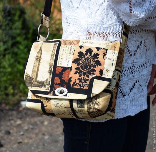 """Женские сумки ручной работы. Ярмарка Мастеров - ручная работа. Купить Сумка женская через плечо """"Венеция"""" маленькая. Handmade."""