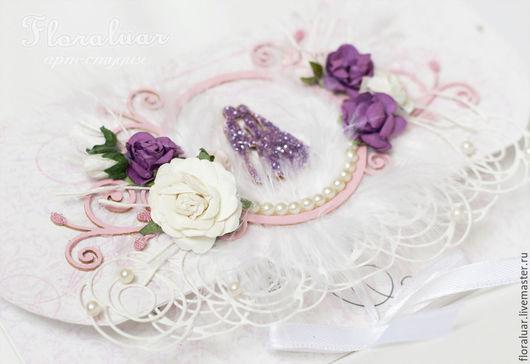 Свадебный конверт `Воздушный зефир`