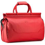 Сумки и аксессуары handmade. Livemaster - original item Leather travel bag