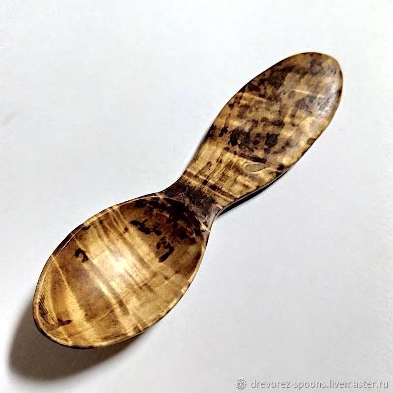 Походная ложка из сувеля берёзы, Ложки, Шумерля,  Фото №1