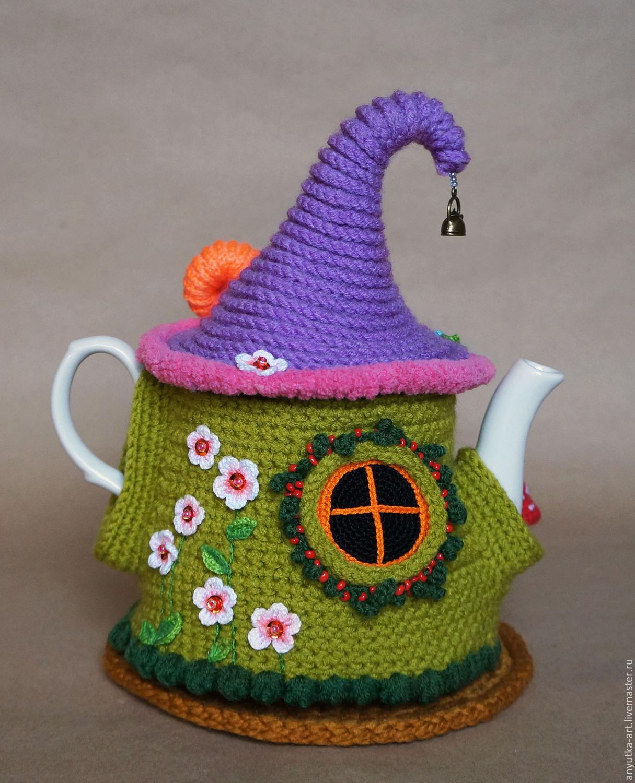 Выкройка домик на чайник своими руками