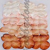 """Материалы для творчества ручной работы. Ярмарка Мастеров - ручная работа цветок бумажный """"Гортензия"""" 5,0 см, цвета разные. Handmade."""
