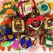 Кубики и книжки ручной работы. Ярмарка Мастеров - ручная работа Бизикубики. Handmade.