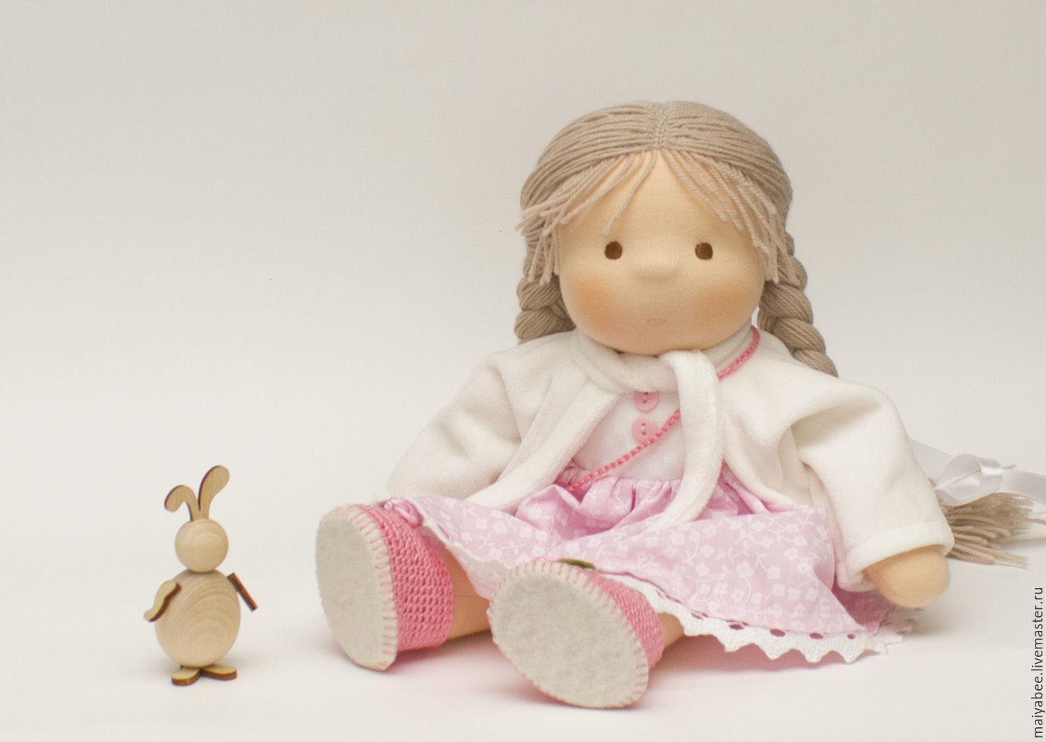 Doll Tatiana, 31 cm, Waldorf Dolls & Animals, Moscow,  Фото №1