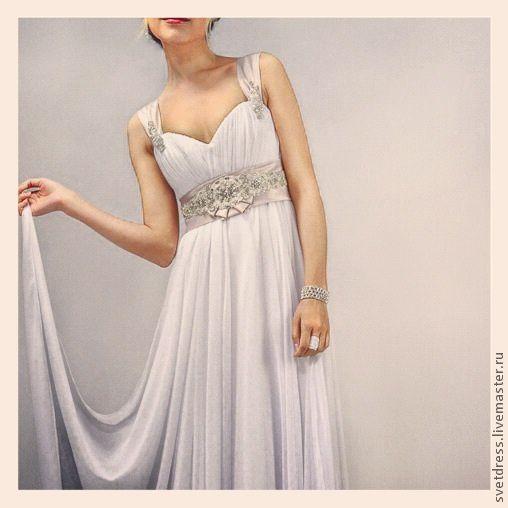 950f23e5210 Платья ручной работы. Ярмарка Мастеров - ручная работа. Купить Свадебное  платье в греческом стиле ...