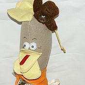 Куклы и игрушки ручной работы. Ярмарка Мастеров - ручная работа Курочка Марфушка II. Handmade.