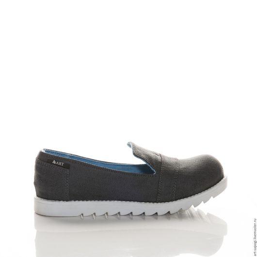 Обувь ручной работы. Ярмарка Мастеров - ручная работа. Купить лоферы  9-321 (СБ). Handmade. Сапожки ручной работы