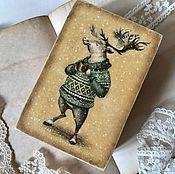 Для дома и интерьера ручной работы. Ярмарка Мастеров - ручная работа Мистер Лось - шкатулочка для украшений. Handmade.