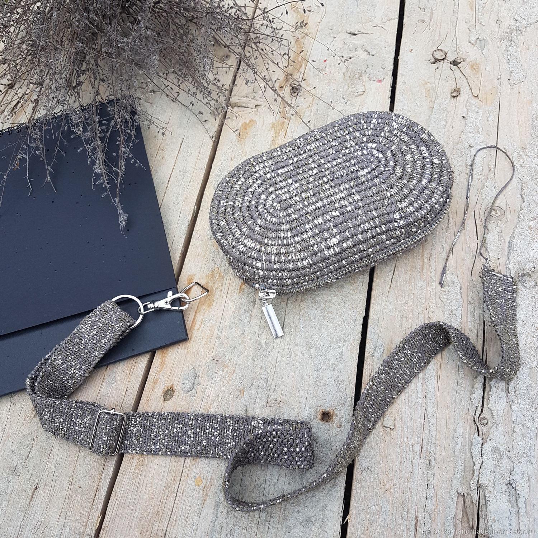 Mini beltbag (описание), Схемы для вязания, Москва,  Фото №1