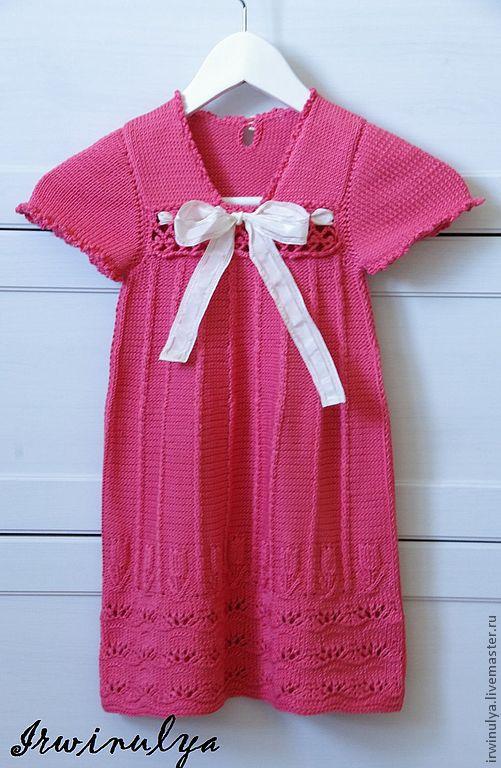 """Одежда для девочек, ручной работы. Ярмарка Мастеров - ручная работа. Купить Платье для девочки """"Тюльпаны"""". Handmade. Платье для девочки"""