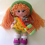 Куклы и игрушки ручной работы. Ярмарка Мастеров - ручная работа кукла рыжуля. Handmade.