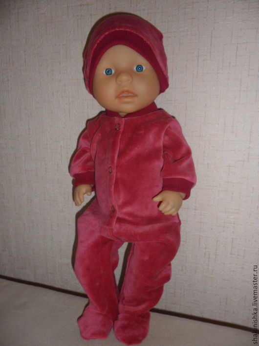 Одежда для кукол ручной работы. Ярмарка Мастеров - ручная работа. Купить Одежда для кукол Беби Бон. Handmade. Комбинированный, кашкорсе