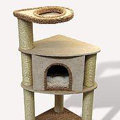 """Для домашних животных, ручной работы. Ярмарка Мастеров - ручная работа Домик для кошки """"Уголок"""". Handmade."""