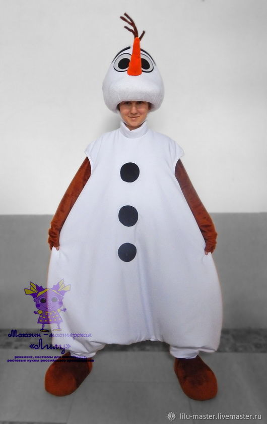 af34b352d921 Carnival Costumes handmade. Livemaster - handmade. Buy Snowman Olaf  Frozen  .