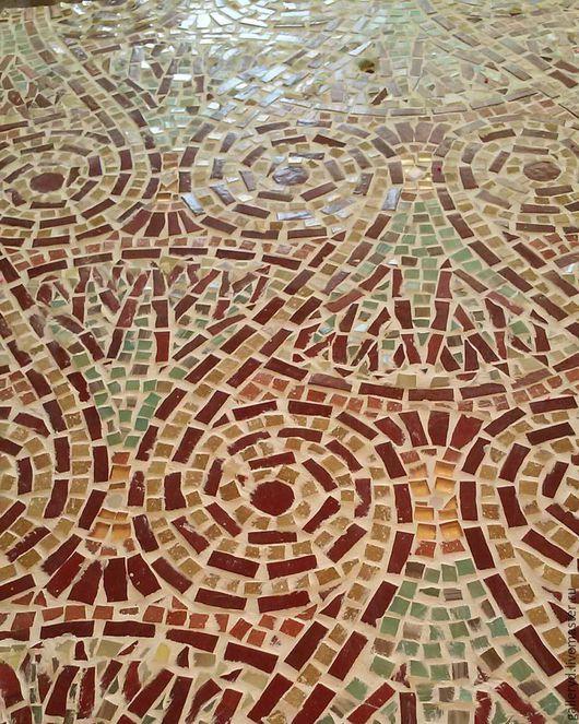 Декор поверхностей ручной работы. Ярмарка Мастеров - ручная работа. Купить Мозаика. Handmade. Комбинированный, мозаика, орнамент, стекло