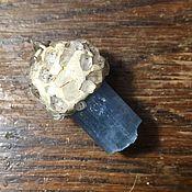 Украшения handmade. Livemaster - original item Pendant with natural aquamarine crystal. Handmade.