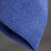 Аксессуары handmade. Livemaster - original item Basic cornflower blue Italian stole