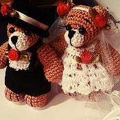 Куклы и игрушки ручной работы. Ярмарка Мастеров - ручная работа медвежата. Handmade.
