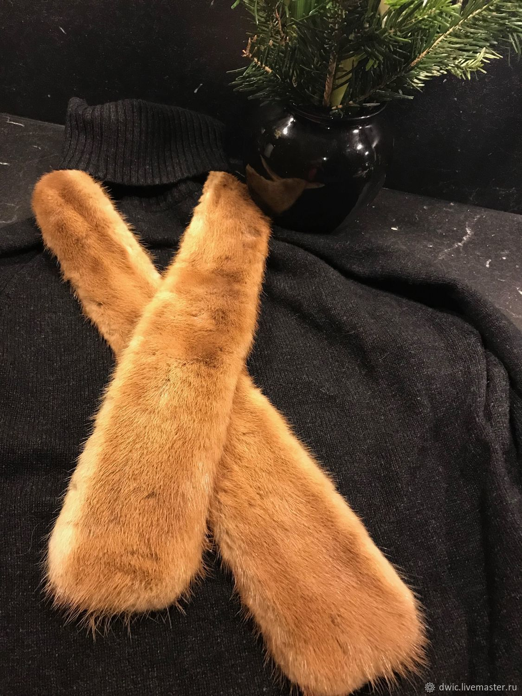 Scarf fur whole mink, Holland, Vintage accessories, Arnhem,  Фото №1