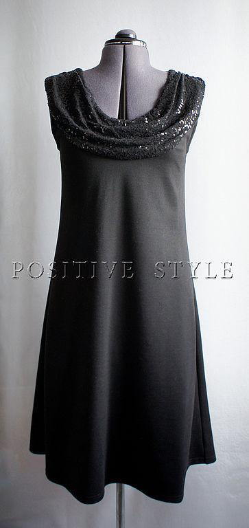"""Платья ручной работы. Ярмарка Мастеров - ручная работа. Купить Платье """"Премьера"""". Handmade. Черный, женская одежда, праздничная одежда"""
