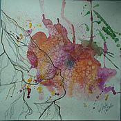 Картины и панно ручной работы. Ярмарка Мастеров - ручная работа Дыхание поцелуя. Handmade.