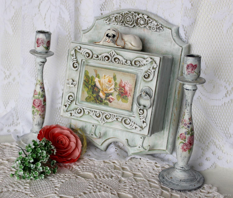 Wall key holder Rose, Housekeeper, Frolovo,  Фото №1