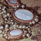 Украшения handmade. Livemaster - original item Necklace of beads and Swarovski pearls