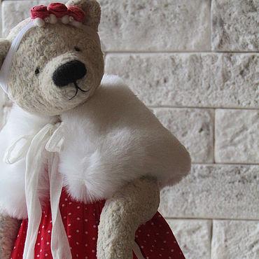 Куклы и игрушки ручной работы. Ярмарка Мастеров - ручная работа Мишка тедди Бусинка. Handmade.