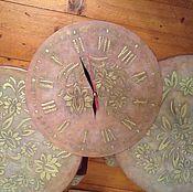 Часы классические ручной работы. Ярмарка Мастеров - ручная работа Часы Сквозь время. Handmade.