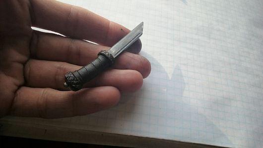 Оружие ручной работы. Ярмарка Мастеров - ручная работа. Купить Нож Флоки 1:6 масштаб. Handmade. Нож, подарок мужчине