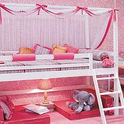 Для дома и интерьера ручной работы. Ярмарка Мастеров - ручная работа №6. Кроватка для принцессы. Handmade.