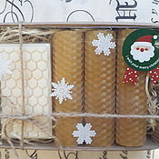 Сувениры и подарки handmade. Livemaster - original item Gifts on February 14: Gift set of candles and soap. Handmade.
