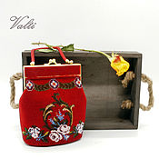 Сумки и аксессуары handmade. Livemaster - original item Handbag RED. Handmade.