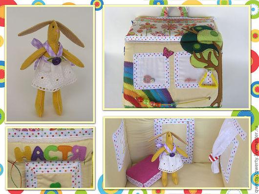 Развивающие игрушки ручной работы. Ярмарка Мастеров - ручная работа. Купить Кукольный ДОМИК (остальные фото в блоге). Handmade. паралон