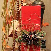 """Сувениры и подарки ручной работы. Ярмарка Мастеров - ручная работа Свеча """"Рождество"""". Handmade."""