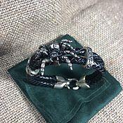 Украшения handmade. Livemaster - original item Leather bracelet