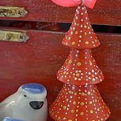 """Подарки к праздникам ручной работы. Ярмарка Мастеров - ручная работа Елочная игрушка """"Елочка"""". Handmade."""