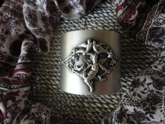 """Браслеты ручной работы. Ярмарка Мастеров - ручная работа. Купить Браслет """"Ангелы"""". Handmade. Серебряный, браслет, латунь с серебрением"""
