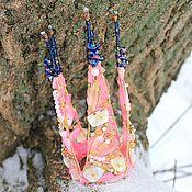 Украшения ручной работы. Ярмарка Мастеров - ручная работа Корона Ледяная роза. Handmade.
