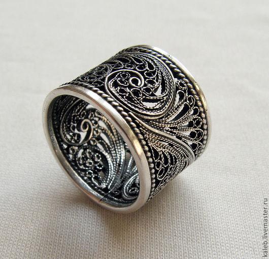 Кольца ручной работы. Ярмарка Мастеров - ручная работа. Купить Cеребряное кольцо. Handmade. Серебряный, ручная работа