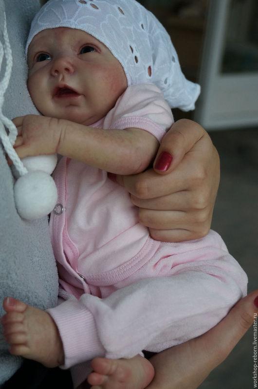 Куклы-младенцы и reborn ручной работы. Ярмарка Мастеров - ручная работа. Купить Sansa , малышка реборн, кукла реборн.. Handmade.