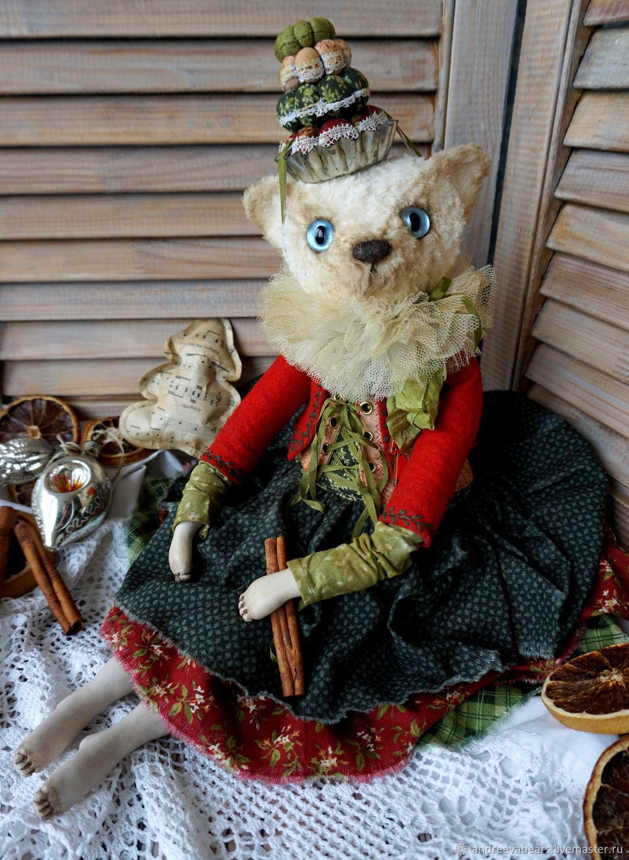 Teddy $: Cat Christmas cupcake, Teddy Doll, Moscow,  Фото №1