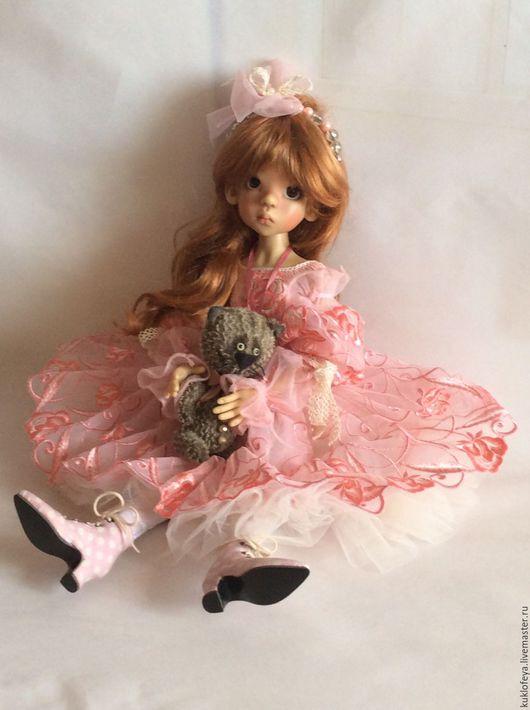 """Одежда для кукол ручной работы. Ярмарка Мастеров - ручная работа. Купить Наряд """" Розовые розы"""" скидка 20%. Handmade."""