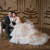 Свадебный салон ручной работы. Ярмарка Мастеров - ручная работа Свадебное платье Принцессы - ВЕРСАЛЬ. Handmade.