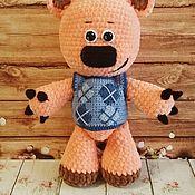 Мягкие игрушки ручной работы. Ярмарка Мастеров - ручная работа Мишка Кеша мимимишки. Handmade.