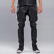 Мужская одежда handmade. Livemaster - original item Leather trousers. Handmade.